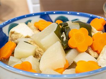 ハム野菜盛り