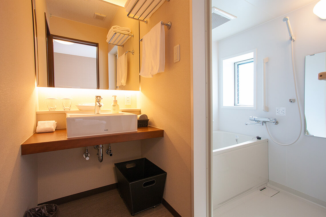 Double Room Sink・Tub